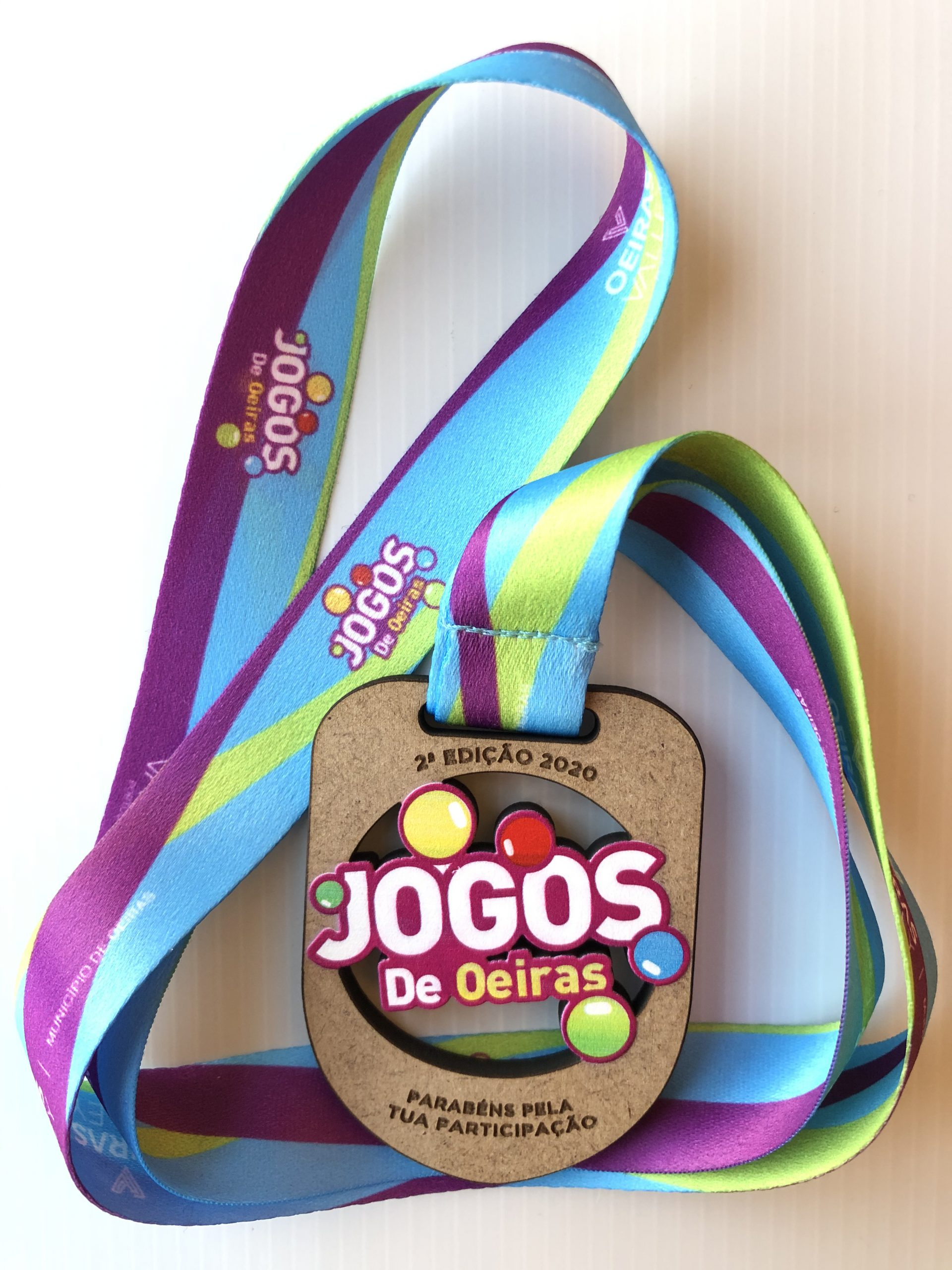 Medalha de Participação da 2ª Edição dos Jogos de Oeiras